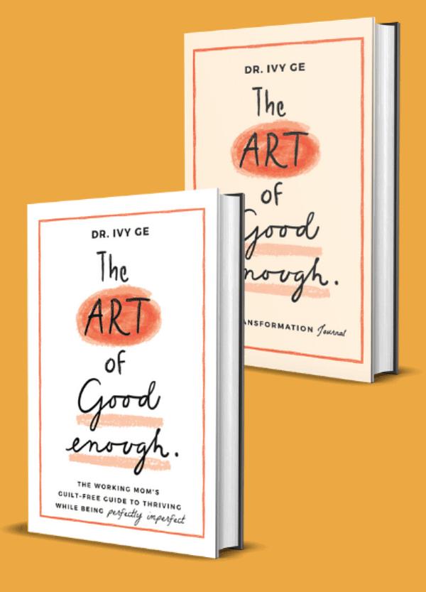 The Art of Good Enough: Guilt-Free Guide plus LIfe Transformation Journal Bundle image