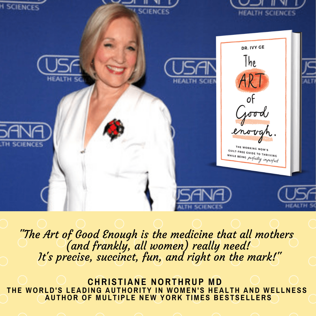 Christiane Northrup, M.D., the world?s leading authority in women?s health and wellness, and author of multiple New York Times bestsellers wrote this about the book, ?The Art of Good Enough is the medicine that all mothers (and frankly, all women) really need! It is precise, succinct, fun, and right on the mark!?