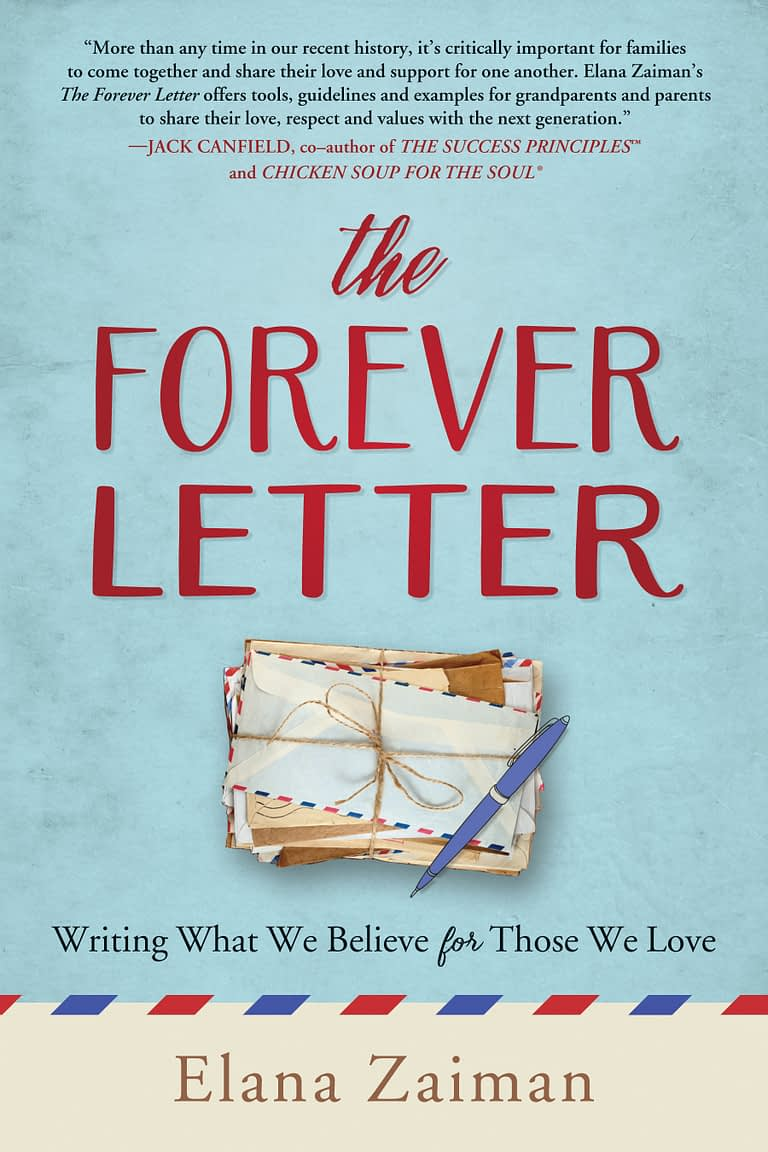 The forever letter book