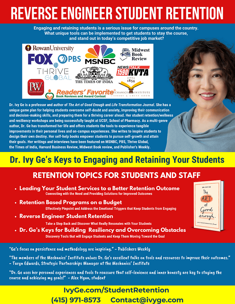 Dr. Ge's Student Retention College Speaking Sheet