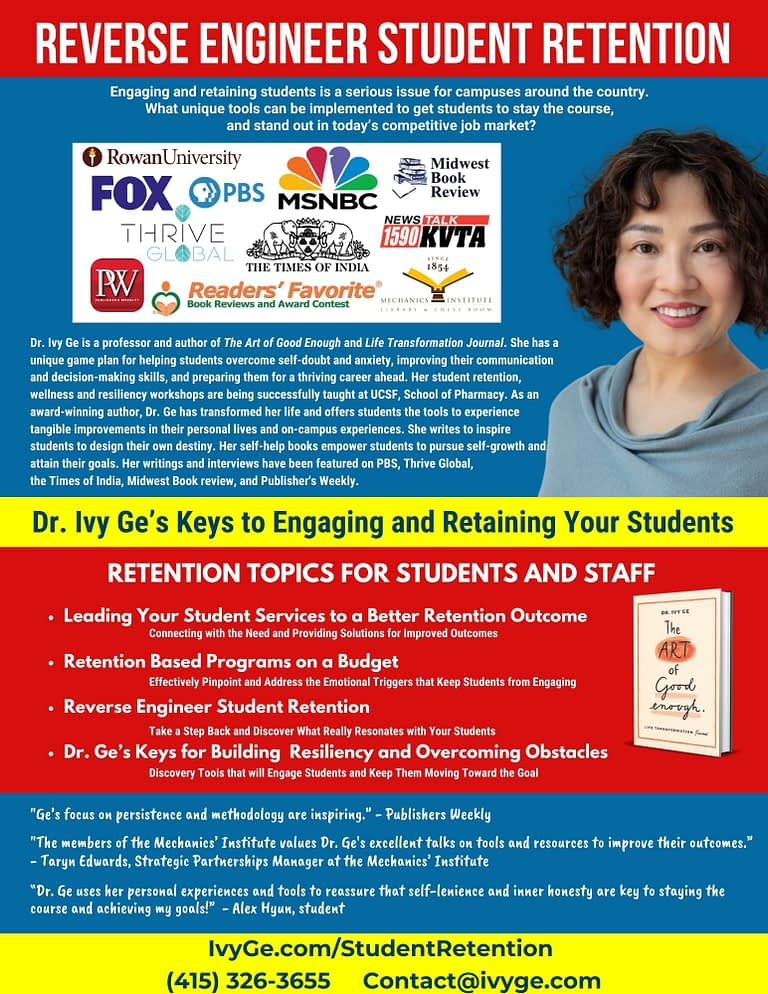 Reverse Engineering Student Retention with Dr. Ivy Ge